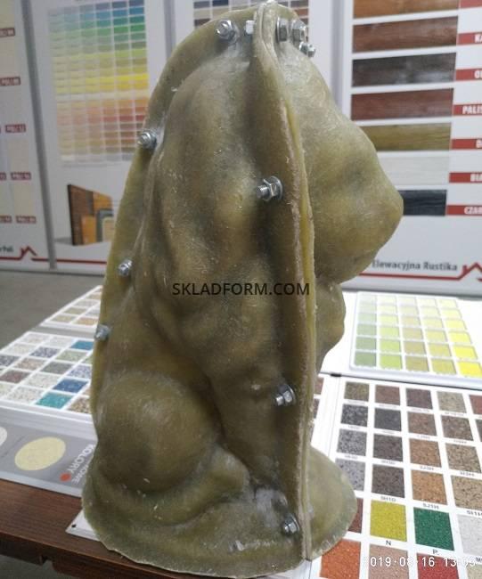 Формы для заливки льва из бетона купить пигменты бетона купить