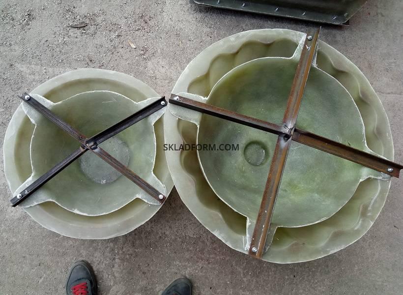 формы для бетона вазоны купить