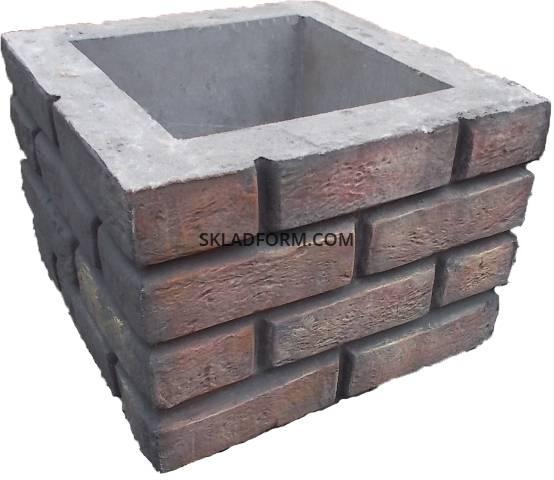 формы для наборных столбов из бетона купить