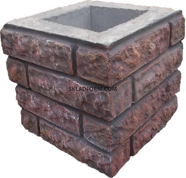 Наборные столбы из бетона для забора купить куплю бетон арматуру